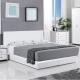 群居空間 畢斯卡5尺掀床房間組 床頭片+掀床+床墊 純白色 product thumbnail 1