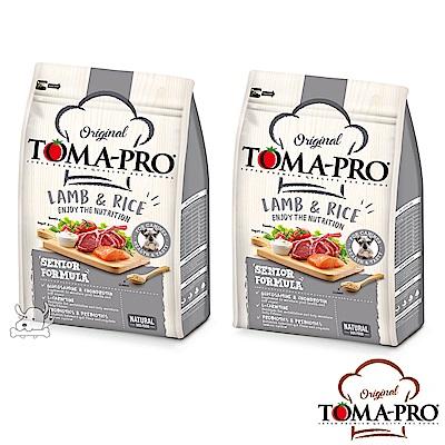 TOMA PRO 優格 高纖低脂 羊肉+米  高齡犬 飼料  7公斤 2包
