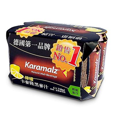 德國進口卡麥隆黑麥汁Karamalz-檸檬(330mlx6入)