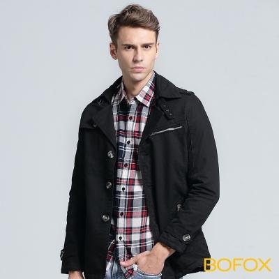 BOFOX WILDLIFE軍裝外套-黑