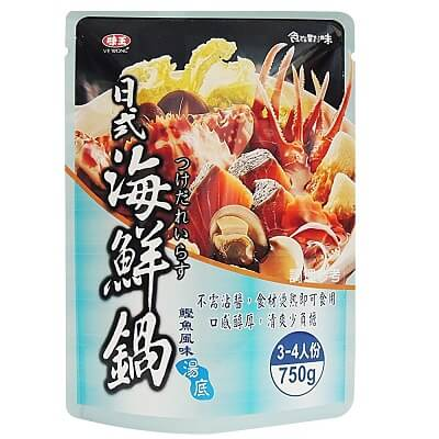 味王 日式海鮮鍋湯底-鰹魚風味(750g)