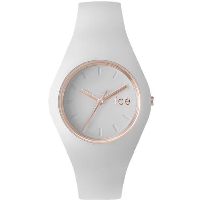 Ice-Watch 亮采系列 優雅名媛手錶 S -白x玫瑰金/38mm