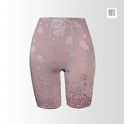 黛安芬-曲線美体褲-經典能量鍺系列 M-EEL(淡雅藕)