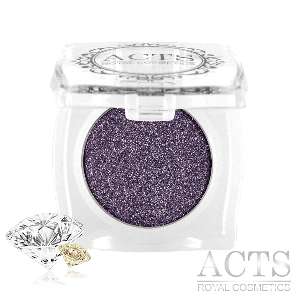 ACTS維詩彩妝 魔幻鑽石光眼影 神秘紫鑽D511