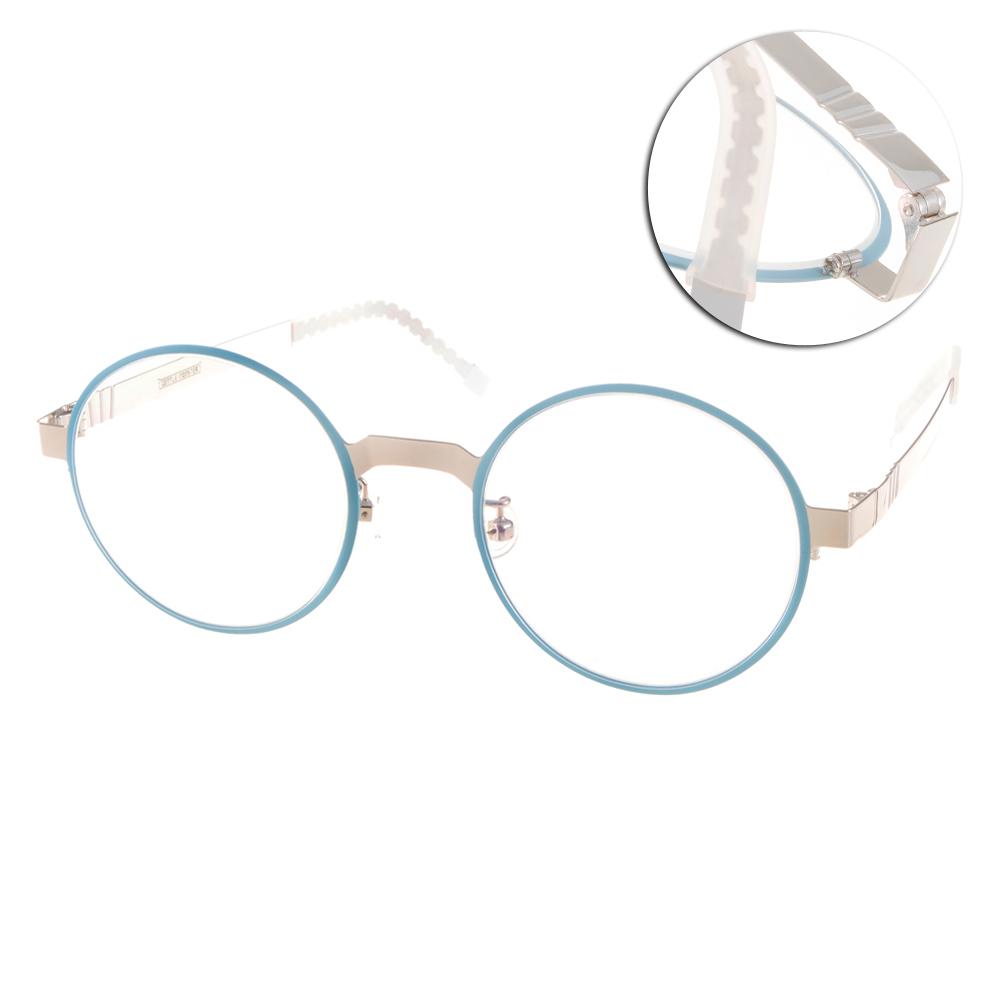 GENTLE MONSTER眼鏡 復古圓框/粉藍#FAFALAM4 CB1