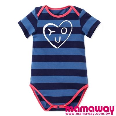 Mamaway-Baby愛心YOU包屁衣