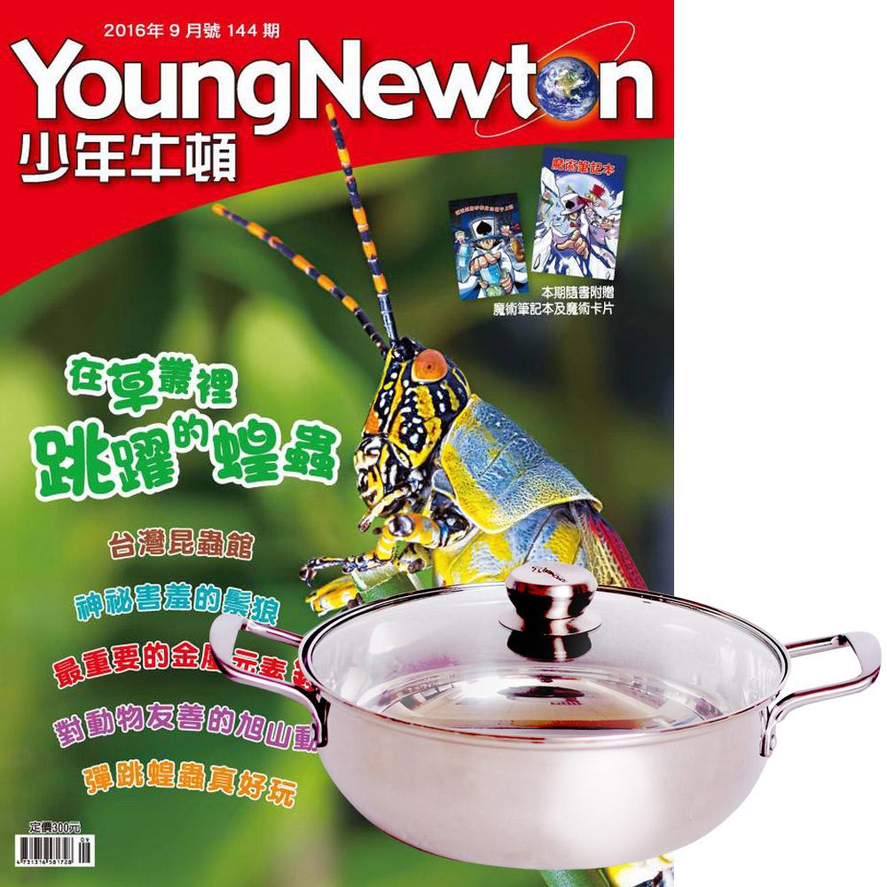 少年牛頓 (1年12期) 贈 頂尖廚師TOP CHEF頂級316不鏽鋼火鍋30cm