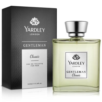 YARDLEY雅麗 紳士經典男性淡香水100ML