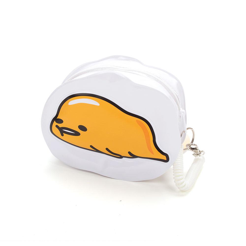 Sanrio 蛋黃哥防水PVC造型化妝包(趴趴好累喔)