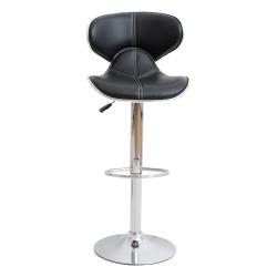 日安家居-Albin愛爾賓時尚升降吧台椅/高腳椅二色-寬44.5x深45x高89cm