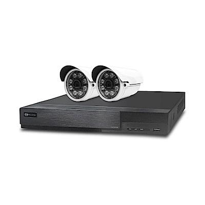 全視線 4路監控主機HS-HA4311+紅外線攝影機MB-TVI8G