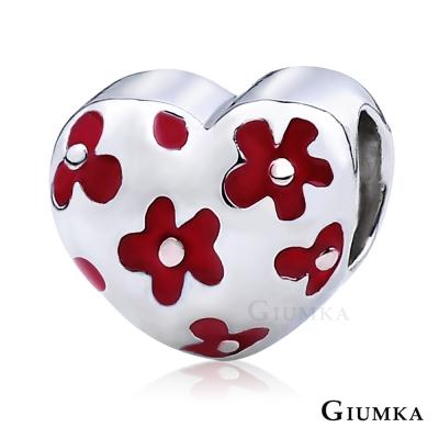 GIUMKA 珠飾 CHARMS 心花朵朵-紅