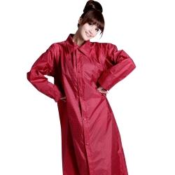 BrightDay風雨衣連身式-印花前開款