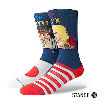 STANCE RYU VS KEN-男襪-休閒襪-快打旋風聯名款