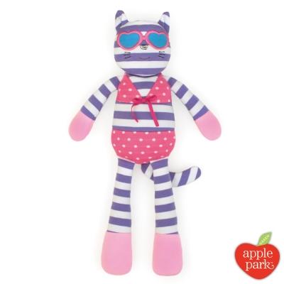 美國 Apple Park 農場好朋友系列 有機棉安撫玩偶 - 時尚靚貓