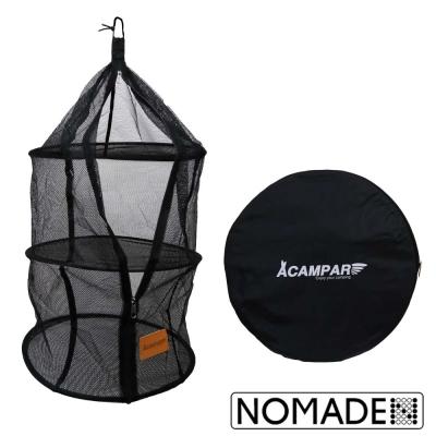 NOMADE ACAMPA三層式食物餐具吊籃網籃吊掛式菜籃碗櫥
