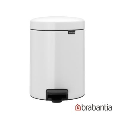 Brabantia NEWICON環保垃圾桶-5L純淨白