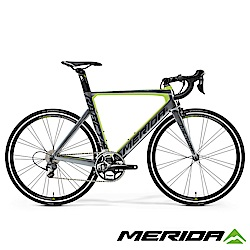 (無卡分期-12期)《MERIDA》低風阻跑車 銳克多 Reacto 5000 綠/灰