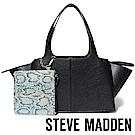 STEVE MADDEN-BRYDEL-素面蝙蝠包(內附小袋)-黑色