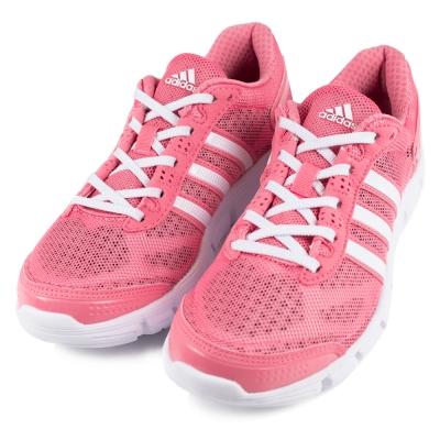 ADIDAS-女慢跑鞋S76763-粉紅