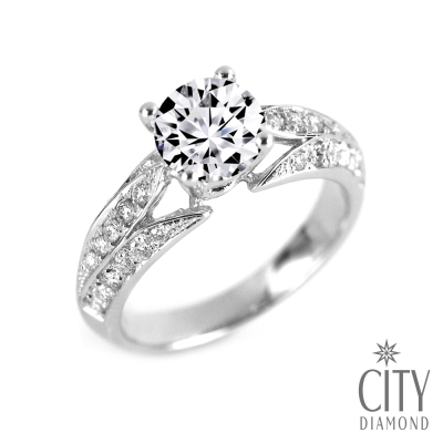 City Diamond引雅『永恆之戒』1克拉鑽戒