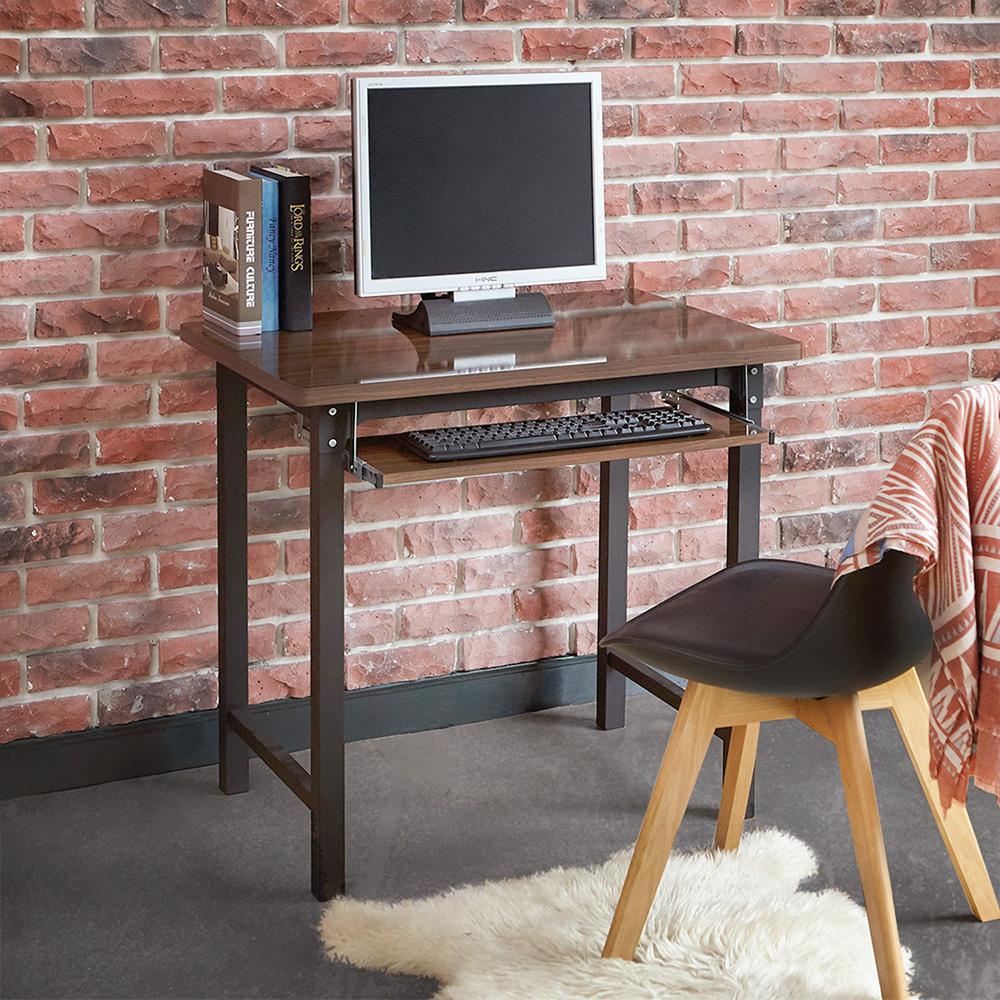 澄境 低甲醛附鍵盤穩重型工作桌(80x60x76公分)-DIY