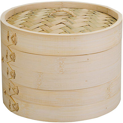 IBILI Moka雙層竹編蒸籠(20.5cm)