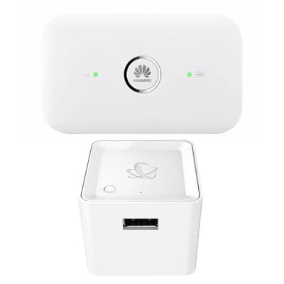 HUAWEI華為 4G行動熱點機特惠組 (E5573S+NEXTDRIVE CUBE)