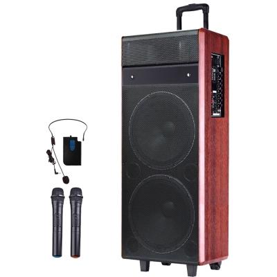 大聲公皇冠型雙12吋無線式多功能行動音箱/喇叭