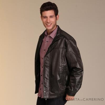 ROBERTA諾貝達 台灣製 內裡舖棉 時尚外套 灰褐