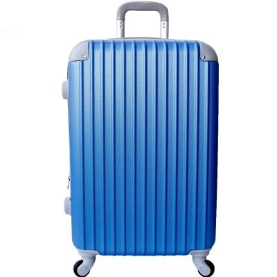 YC Eason 超值流線型 28 吋ABS可加大海關鎖硬殼行李箱 海洋藍