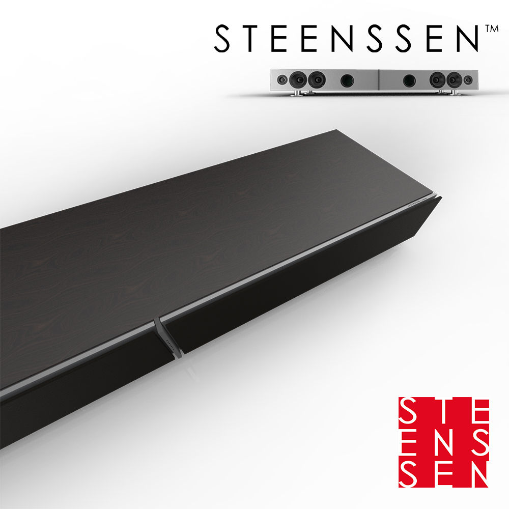 【丹麥 STEENSSEN】高階藍牙原音劇院系統-TT Grand王者震撼限定款(木紋黑)