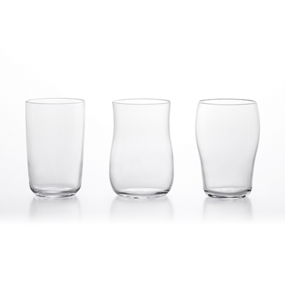 【ADERIA】日本進口強化玻璃啤酒杯3件套組
