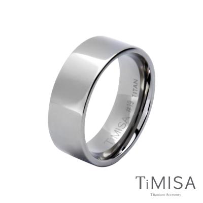 TiMISA《簡約時尚》純鈦戒指