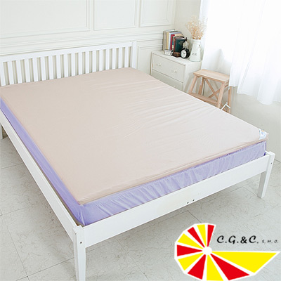 凱蕾絲帝 馬來西亞製造 高密度100%純乳膠5公分單人加大床墊-3.5尺(含布套)