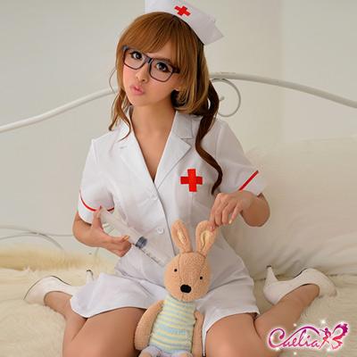 Caelia-純白俏麗護士角色扮演服