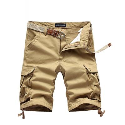 美國熊 美式街頭風格‧立體口袋 水洗面料‧工作短褲
