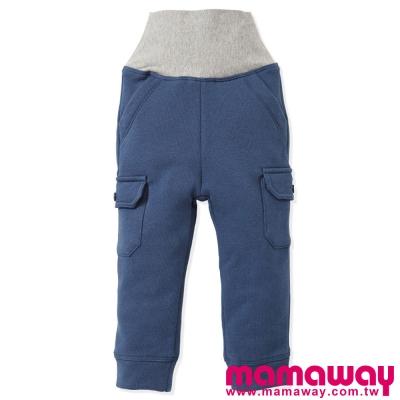 Mamaway-口袋刷毛護肚褲-共四色