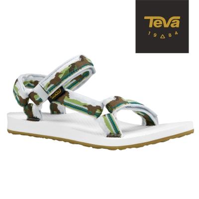 TEVA 美國-女 Original Universal 緹花織帶涼鞋 (草原馬)