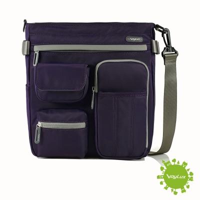 VoyLux伯勒仕-專櫃精品-輕時尚-防潑水三用輕巧包-紫色