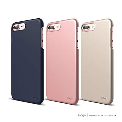 elago iPhone 8 Plus 經典超薄手機保護殼