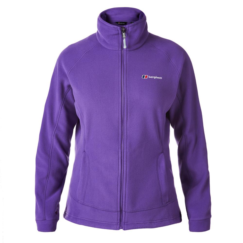 【Berghaus 貝豪斯】女款刷毛保暖 IA外套H22F09-紫