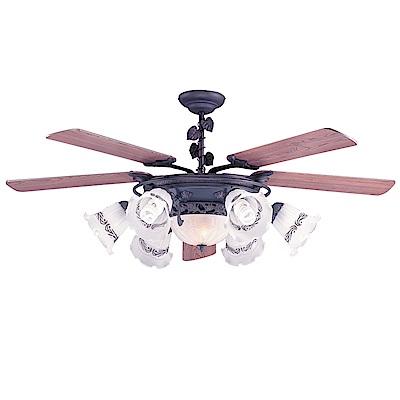 領航者 伊莉莎白60吋吊扇+多燈組-遙控款AS26G