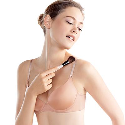 【黛安芬】身體底妝-裸色系列 超彈力T-Shirt胸罩 D-E罩杯 (經典裸色)