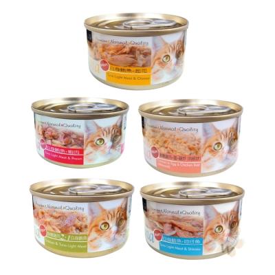 聖萊西Seeds TUNA 愛貓天然食 70g 12罐組