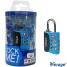 Verage維麗杰 城市系列TSA海關密碼鎖(藍)
