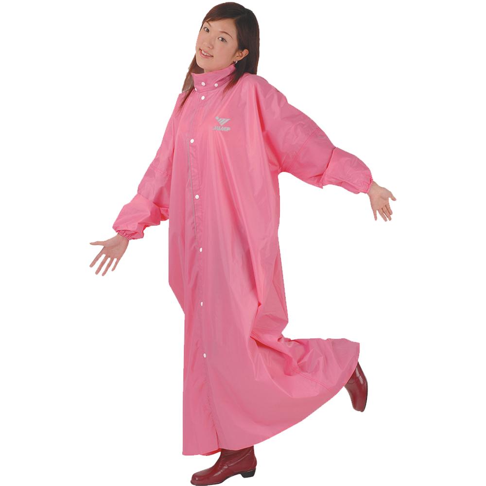 JUMP 將門 前開素色連身風雨衣JP1991(XL)兒童雨衣140~150cm