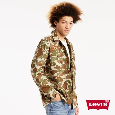 Levis 襯衫 男裝 老鷹刺繡 雙口袋