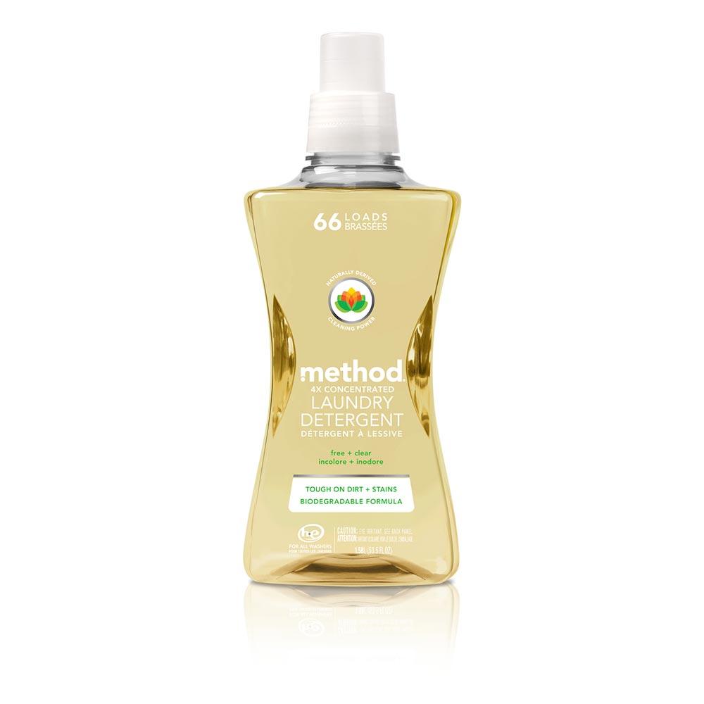 Method美則 4倍濃縮智慧環保洗衣精-潔淨無香料1580ml