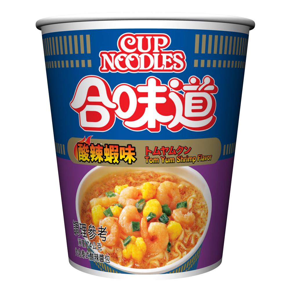 日清 合味道酸辣蝦味杯麵(74g)